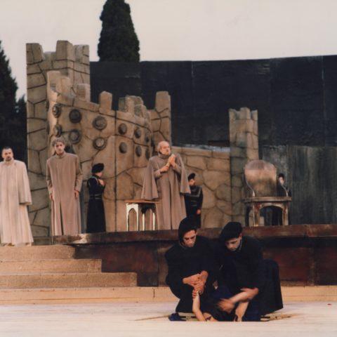 l'Antigone al Teatro Greco di Siracusa, 1986